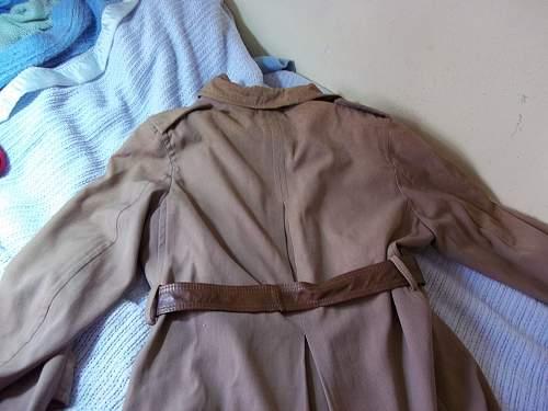 original field officers overcoat?