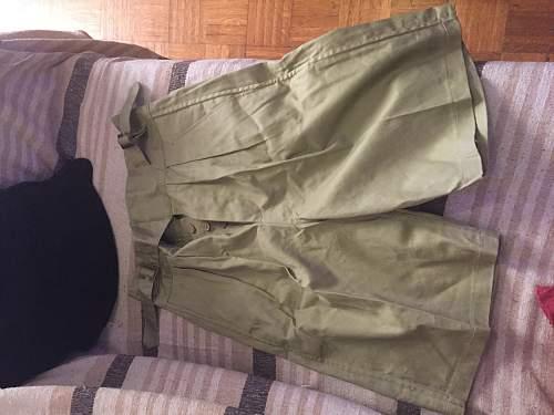 british khaki drill pants and trousers