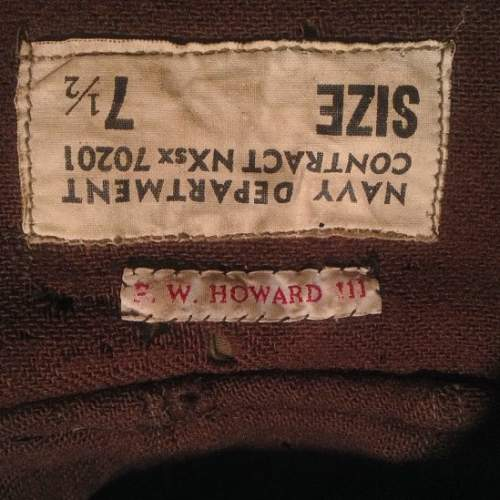 USN Deck Hat - Issued (Named) Help needed.