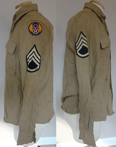 385th Bomb Group - POW Uniform Grouping