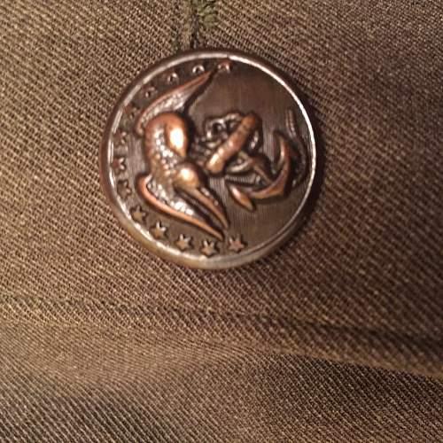USMC Genenals  tunic Date