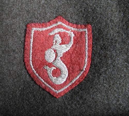 1st Household Cavalry Regiment US WA BD blouse
