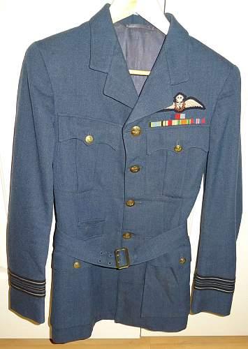 RAF Wing Commander Uniform
