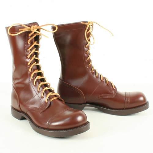 War Era Australian Made High Boots?
