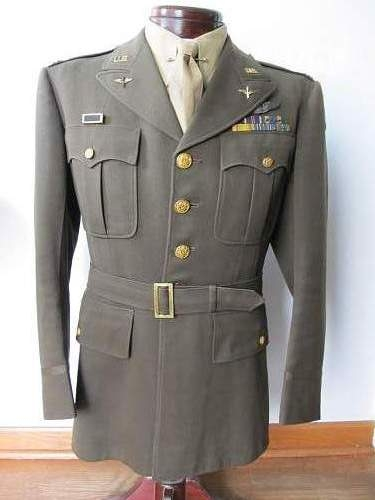8th Air Force pilot's tunic & cap