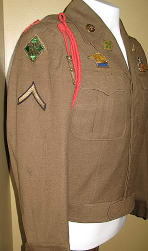 """Fully Decorated """"Hell on Wheels"""" Ike Jacket..."""