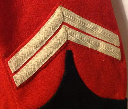 Royal Berkshire Regiment Scarlet Frock