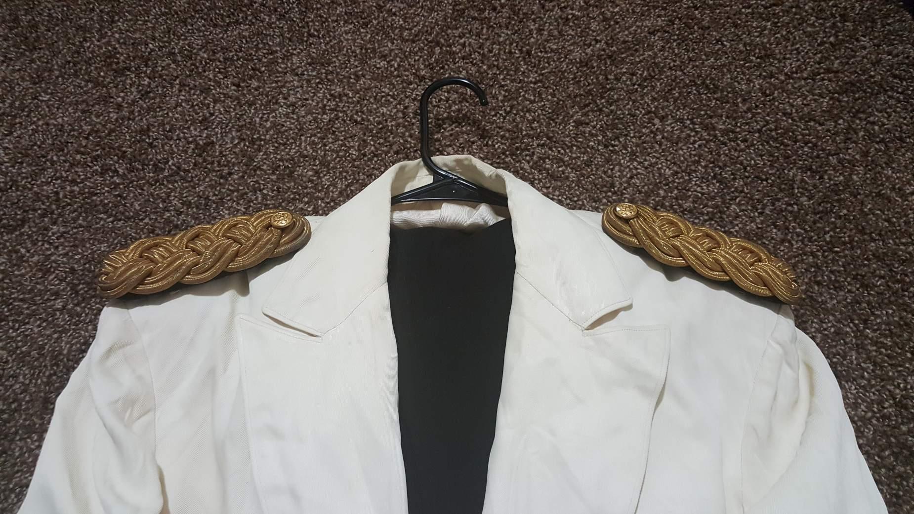 White mess dress army