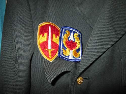US dress uniform