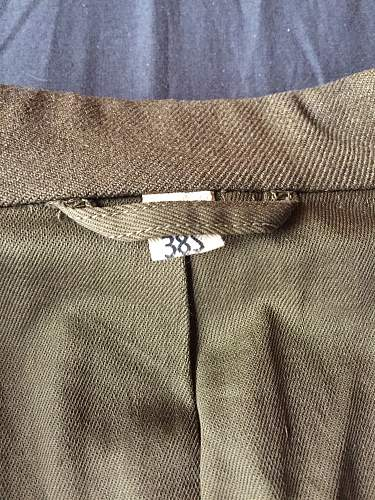 IKE jacket 3rd inf division.. Need your opinions:)