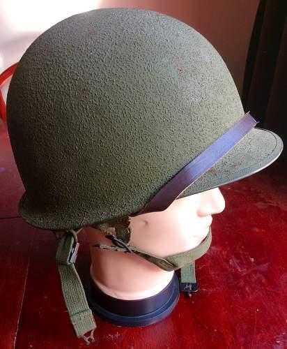 M1C Schleuter helmet early 1960s