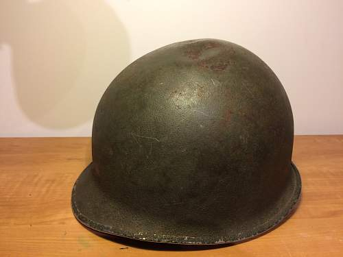 NEED HELP! WW2 US M1 Helmet with Soldier ID. Possible to track down?