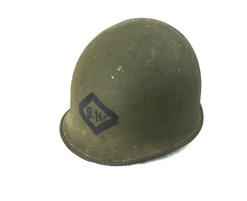 M1 medic helmet postwar