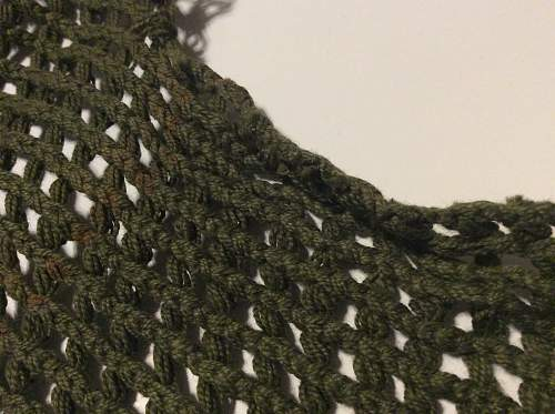 M1 helmet net and band