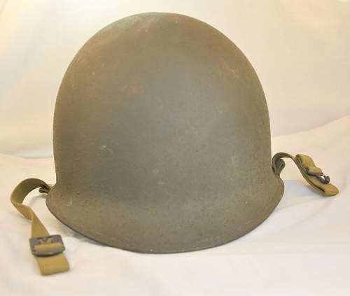 M1 helmet @ auction
