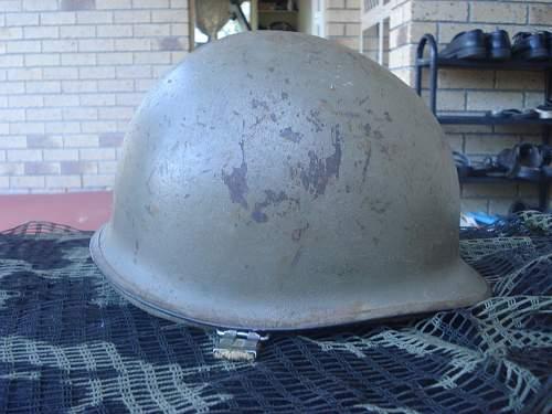 My M1  helmet