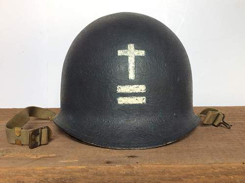 US m1 Chaplain helmets