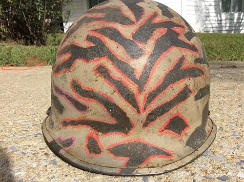 Vietnam era camo m1 helmet?