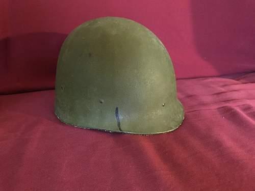 Need help identifying an M1 helmet.