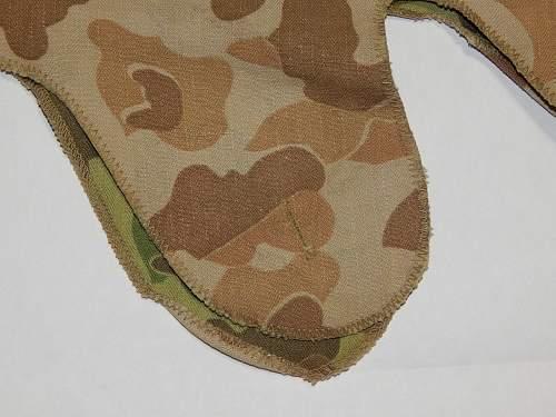 "USMC ""3rd pattern"" helmet cover for review"