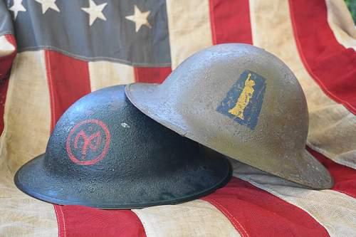 US m1 Chaplain helmets