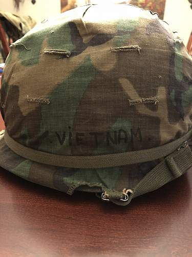 Vietnam Era M1 with Cover