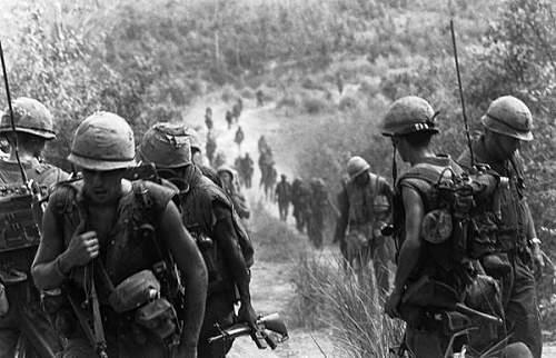 Vietnam Era M1 with Cover