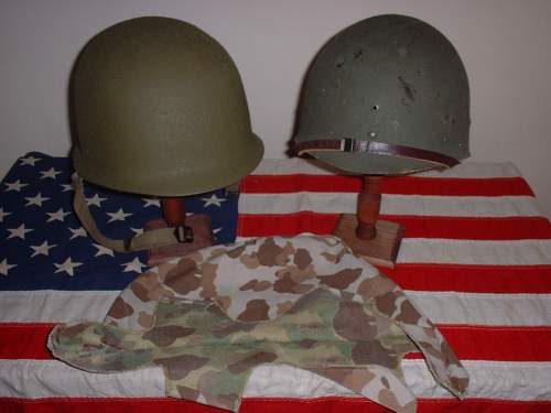 m1 pacific helmet and 1st issue cover HELP !!