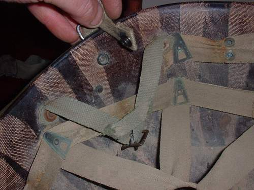Fake or real !! Ww2 us riggers helmet