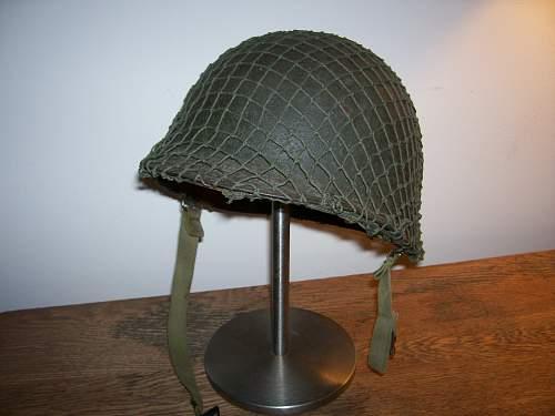 Help needed on M1 U.S helmet