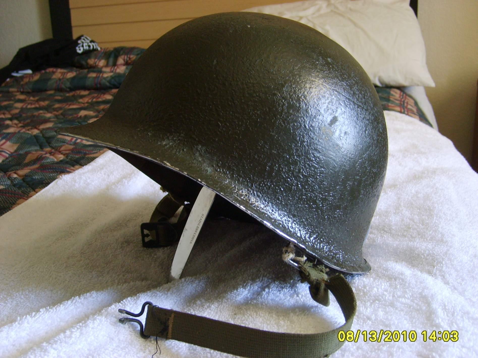 Dating m1 steel helmets
