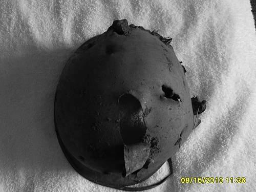 M1 Helmets found on Ft Carson, Colorado