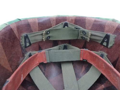 Vietnam era M1 helmet lieutenant colonel