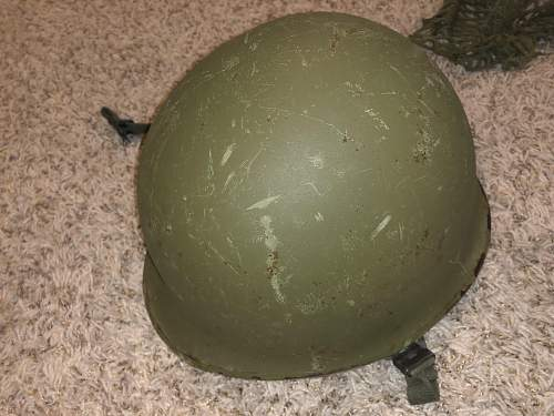 Assistance required with identifying / dating an M1 helmet