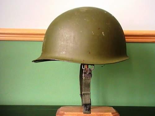 grabbed a rear seam helmet cheap