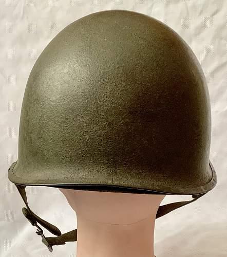 WW2 Parish Reading M1 helmet
