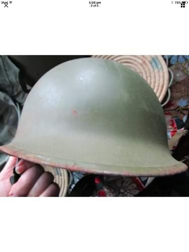 80s M1 helmet id