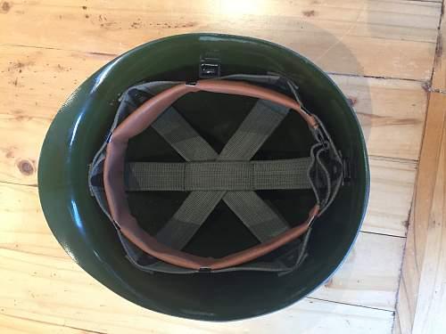 Helmet identification (No markings)