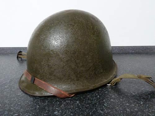 Korean war helmet?