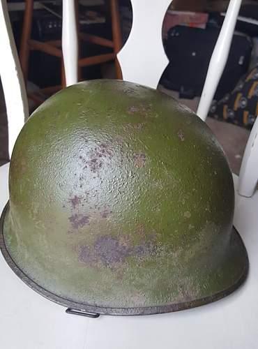 Battle damaged M1