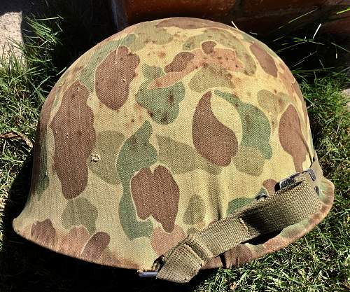 WW2 with unmarked Camo cover, no slits