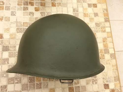 Us m1 steel helmets