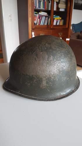 M1 steel helmet  chronological order