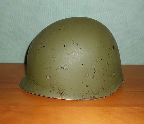 M1 helmet; What's the pedigree here?