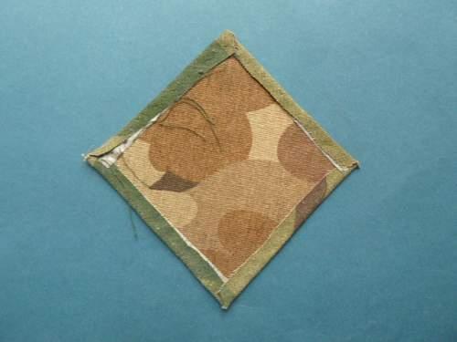 EGA Diamond for a M1 Helmet cover