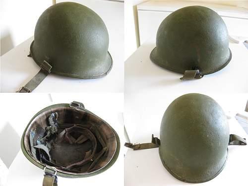 Need help please!! M1 helmet...WW2 or not?