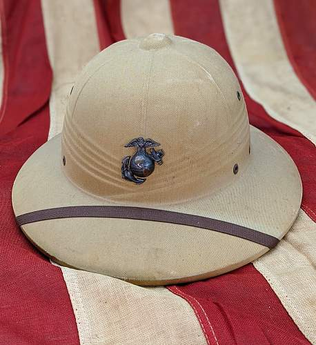 The US Pressed Fiber Sun Helmet