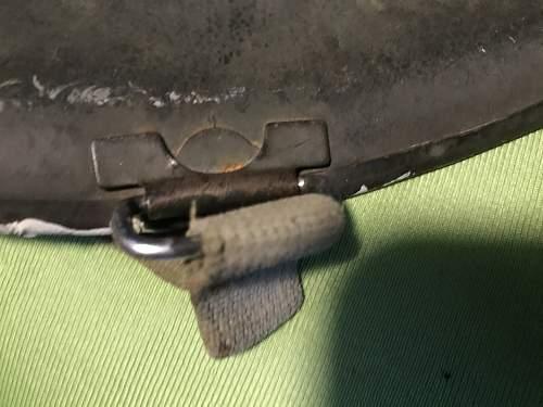M1 Swievel bail Front seam maybe US Navy