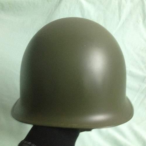 US M1 Helmet Shell
