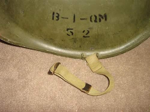 US M1 Helmet - Genuine or not?